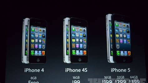 a iphone 1 iphone 4s drops to 99 iphone 4 now free apple discontinues the 3gs the verge