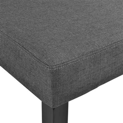 stuhl stoff en casa 174 6x design st 252 hle textil dunkelgrau stuhl