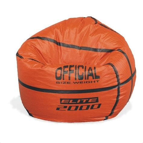 sports vinyl basketball bean bag bean bag
