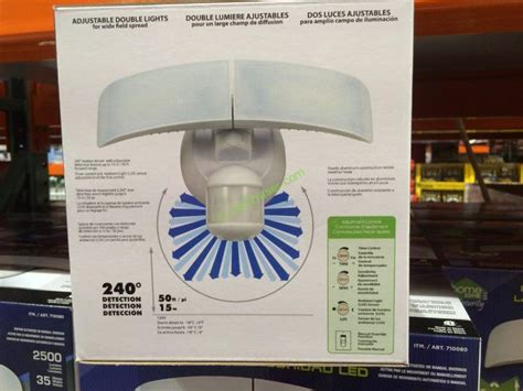 security light with costco costco 710080 homezone led motion sensor security light