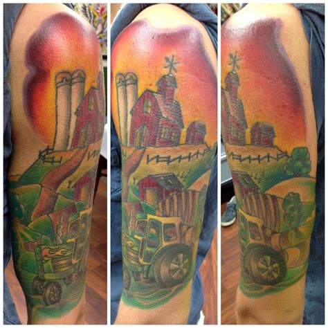 farm tattoos color tattoos krueger studio