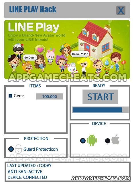 tutorial hack line play line play your avatar world cheats hack for gems 2016