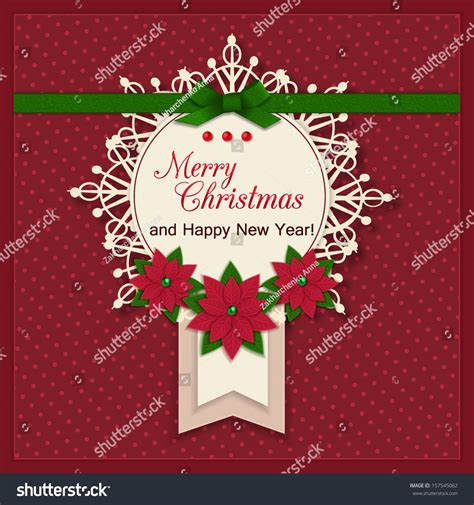 christmas cards shutterstock merry greeting card background stock vector 157545062