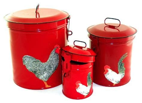rooster kitchen canister sets rooster canister sets for sale