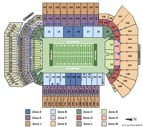 kyle field visitor section kyle field tickets college station tx kyle field events