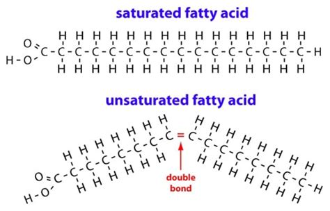 healthy fats chemistry is saturated or bad