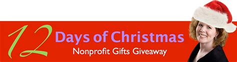 Non Profit Giveaways - 12 days of christmas nonprofit gifts giveaway pamela grow