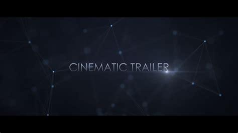 Cinematic Trailer Abstract Envato Videohive After Effects Templates Cinematic After Effects Template