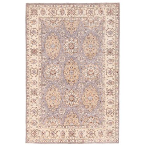 vegetable dye rugs afghan knotted vegetable dye oushak wool rug 6