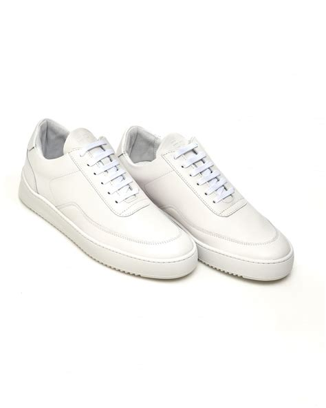 all white mens sneakers filling pieces mens low mondo ripple nardo trainer all
