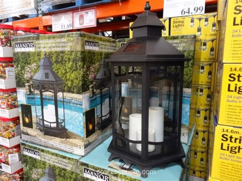 solar garden lights costco image gallery outdoor solar lanterns costco