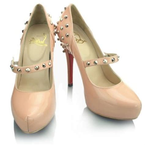 Shoes Of The Week Christian Louboutins Mad Janes by Christian Louboutin Mad Pink Janes Leather Pumps