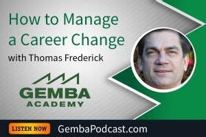 One Year Mba Career Change by Ga 195 How To Manage A Career Change With