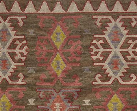 Pottery Barn Indoor Outdoor Rug Pottery Barn Marcel Kilim Indoor Outdoor Rug 8x10 Southwest Neutral New Ebay