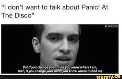 Panic At The Disco Memes - image about funny in brendon doll by samantha rendon
