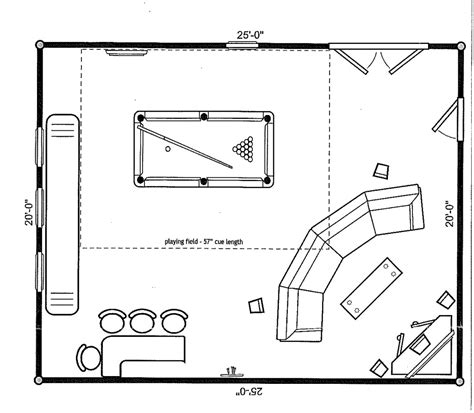 game plan layout looking s movie gameroom avs forum home theater