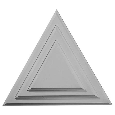 home depot paint triangles ekena millwork 9 1 4 in triangle ceiling medallion cm19tg