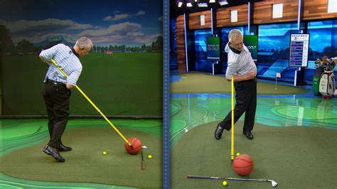 how to swing through the golf ball thin golf shots how to avoid them golf channel