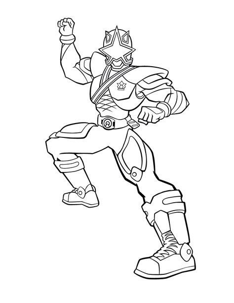 power rangers samurai coloring pages to print free printable power rangers coloring pages for kids