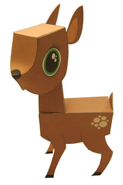 Papercraft Deer - papercraft deer shoot it but don t eat it gearfuse
