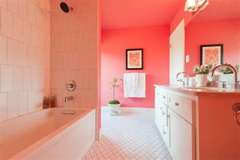 coral bathrooms paint color portfolio coral bathrooms paint colors