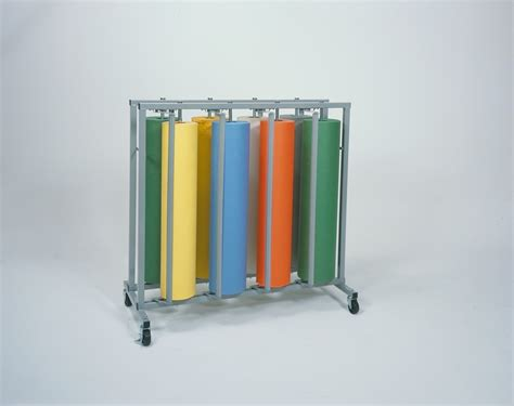 Eight Rack by Eight Roll Vertical Paper Rack Bulman Products