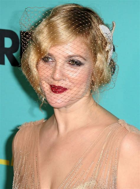 Drew Barrymoores Hair by Drew Barrymore S Hair Waves Hair Waves Zimbio