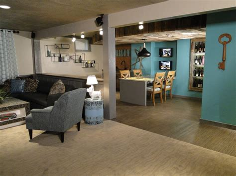 hgtv diy network house crashers contemporary basement