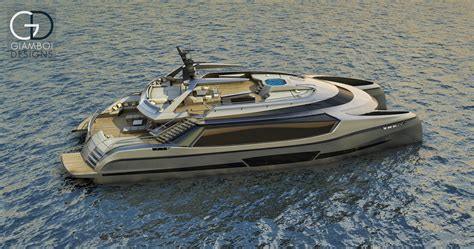 catamaran superyacht mauro giamboi presents superyacht catamaran concept ego