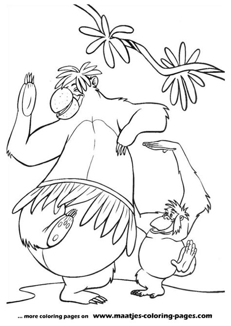 Jungle Book Coloring Pages Jungle Book 2 Coloring Pages