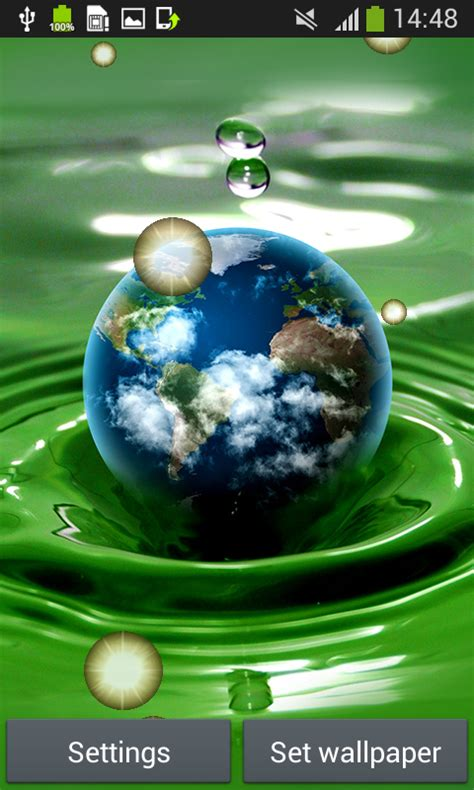 live wallpaper earth download earth live wallpapers free android app android freeware
