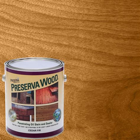 sun proof deck fence and siding stain ready seal 1 gal cedar exterior wood stain and