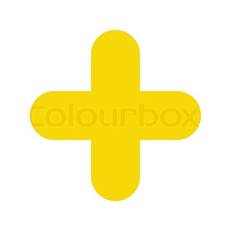 2d Home Design Online Free by Icon Plus Yellow Stock Vector Colourbox