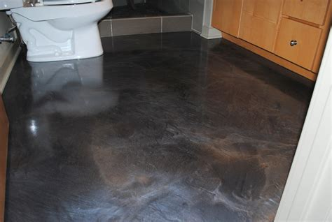 epoxy resin flooring is suitable for a public bathroom