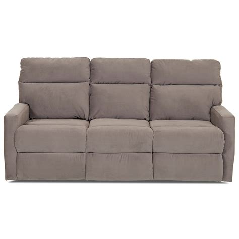 Klaussner Reclining Sofa Klaussner Monticello Power Reclining Sofa With Soft Track Arms Hill Furniture Reclining