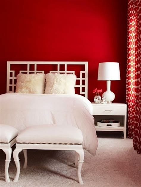 bedroom red accent wall 10 tips to decorate your home for valentines mod interiors
