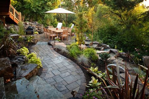 sloped backyard 1000 images about home on pinterest home depot marble