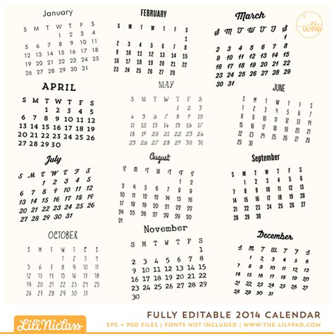 editable calendar 2014 template printable and editable monthly calendar page 2 calendar