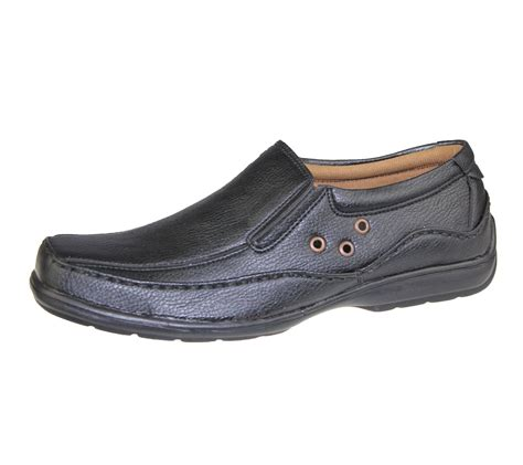 mens shoes comfort mens casual shoes slip on deck loafers smart walking