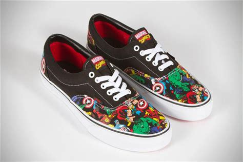 marvel shoes marvel x vans classics collaboration sneakers hiconsumption