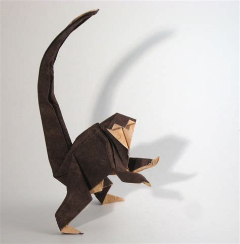 How To Make Origami Monkey - monkey saadya sternberg gilad s origami page