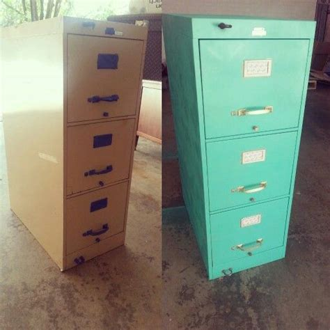 spray paint file cabinet filing cabinet makeover spray paint scrapbook paper