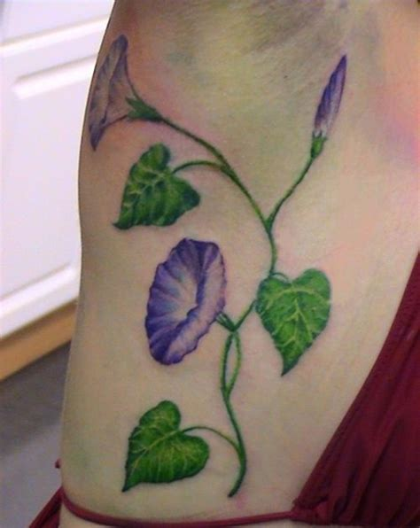 morning glory flower tattoo designs 25 amazing morning tattoos for