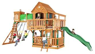 Backyard Discovery Grand Towers Image Gallery Discovery Playsets