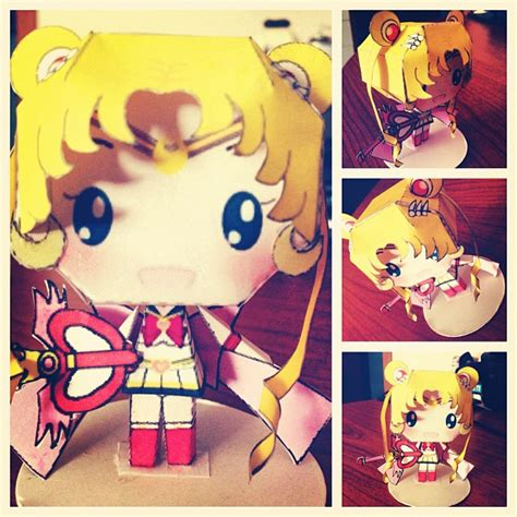 Sailor Moon Papercraft - sailor moon papercraft 2 by anticchii on deviantart