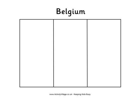 europe flag coloring page belgium flag colouring page