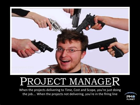Project Manager Meme - project management posters funny google search project