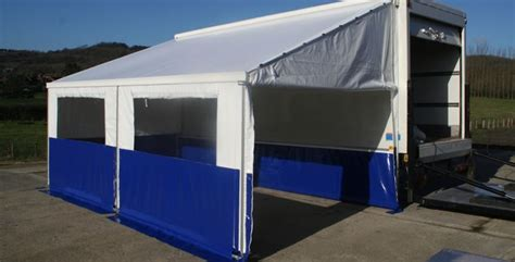 Vehicle Awnings Uk by Website Launch For Vehicle Awnings Barkers Marquees
