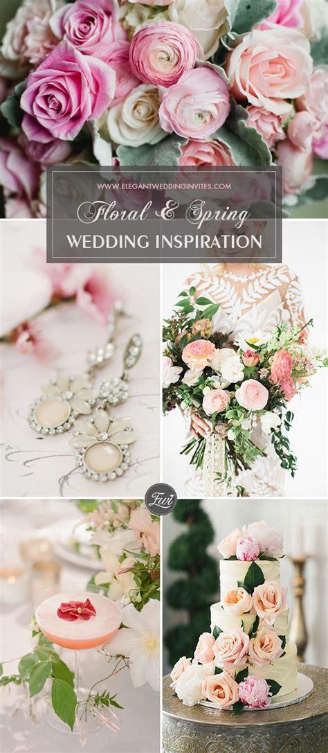Floral Wedding Décor Ideas for Spring 2018