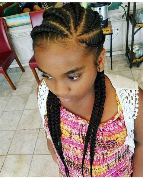 kids salon corn row pin by danielle brower on kids hairspiration pinterest